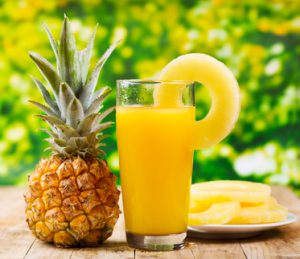 Fresh Pineapple & Juice