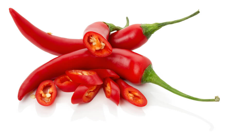 how to cook red chillies